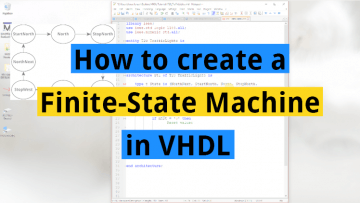 How to create a Finite-State Machine in VHDL