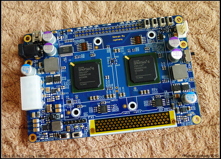 Lancelot-A FPGA based bitcoin mining board