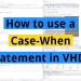 Case-When